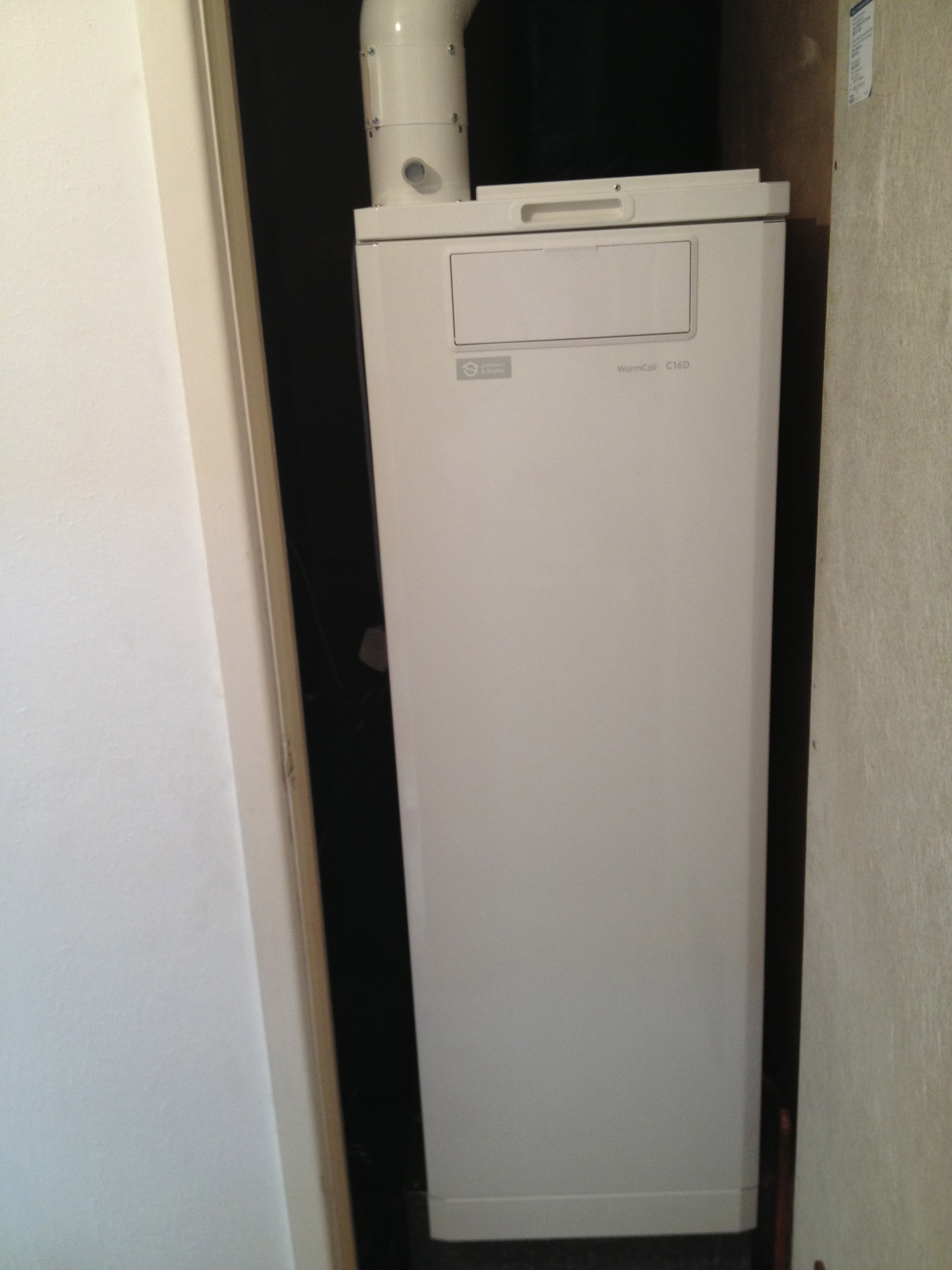New Warm Air Heating Boiler Warm Care Swn Plumbing