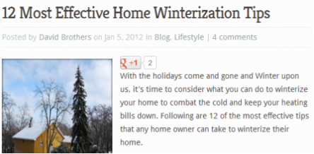 Most Effective Home Winterization Tips