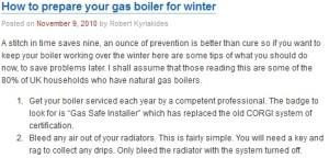 Gas Broiler